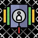 Customer Profile Crm Data Icon