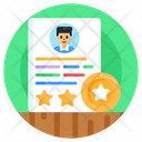 Customer Profile Profile Ratings Client Ratings Icon