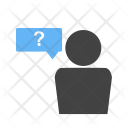 Question Customer Query Icon