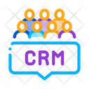 Customer Relationship Management Icon