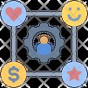 Customer Relationship Crm Customer Icon