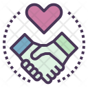 Customer Relationship Deal Icon