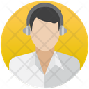 Customer Representative Customer Service Call Center Agent Icon