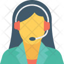 Representative Customer Service Icon