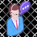Customer Representative Customer Help Customer Service Icon
