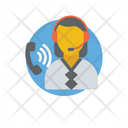 Client Support Customer Representative Customer Support Icon
