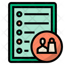 Customer Requirements Requirements List Icon