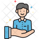 Customer Loyalty Care Customer Reward Icon