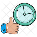 Customer Review Feedback On Time Response Icon