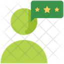 Customer Review Feedback Rating Icon