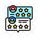 Customer Review Color Icon
