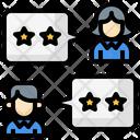 Customer Review Customer Rating Customer Feedback Icon