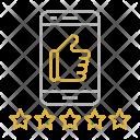 Customer Reviews Optimization Icon