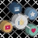 Customer Satisfaction Feedback Online Evaluation Icon