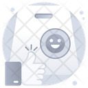 Shopping Feedback Customer Satisfaction Rating Icon