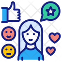 Customer Satisfaction Rating Lean Thinking Icon