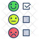 Customer Satisfaction Score Icon