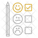 Customer satisfaction survey Icon