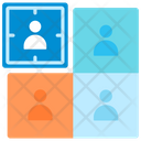 Segment Customer Market Icon