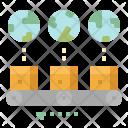 Segment Customer Deliver Icon