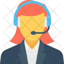 Phone Operator Call Icon