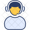 Customer Service Call Center Advice Icon
