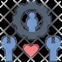 Service Customer Maintenance Icon