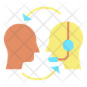 Ipublic Relations Customer Service Customer Support Icon