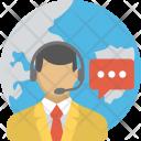 Man Operator Customer Icon