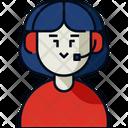Customer Service Support Call Center Icon