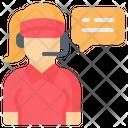 Customer Service Call Center Help Icon