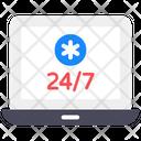 Customer Service Customer Support 247 Help Icon