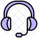 Customer Support Microphone Icon