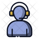 Call Center Customer Service Support Icon