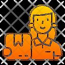 Customer Service Customer Receive Icon