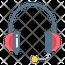 Headphones Customer Service Customer Support Icon