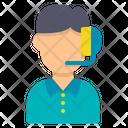 Customer Service Avatar Support Icon