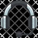 Customer Service Headphone Icon