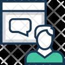 Talking Chat Conversation Icon