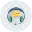 Telemarketing Chat Bubble Icon