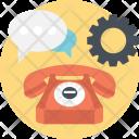 Customer Service Telephone Icon