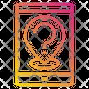 Customer Service Pin Phone Icon