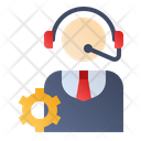 Customer Service Management Icon