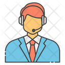 Customer Services Customer Support Call Center Icon
