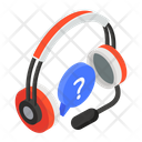Customer Services Faq Frequently Ask Question Icon