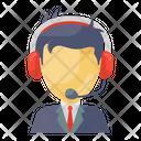Customer Services Representative Csr Customer Support Icon