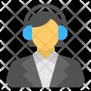 Customer Representative Support Icon