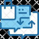 Exchange Shopping Customer Icon
