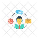 Communication Customer Support Icon