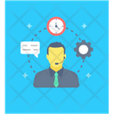 Customer Support Customer Representative Customer Service Icon